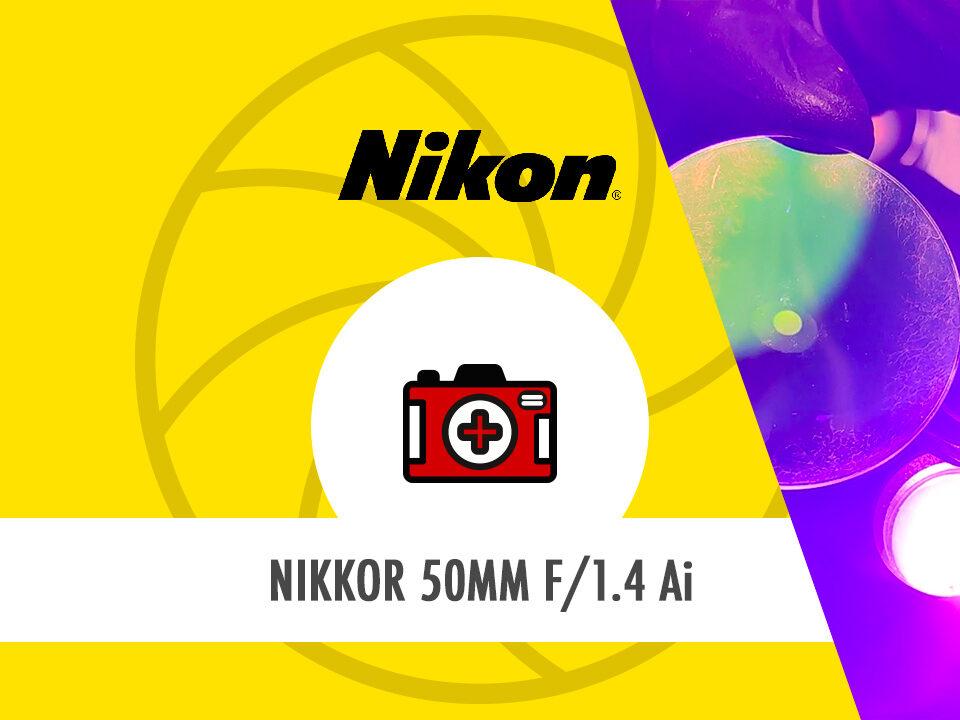 HostoPhoto - Nikon Nikkor 50mm 1/4 Ai